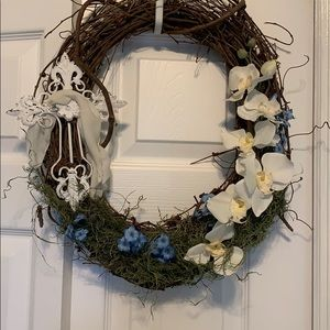 Easter Oval Wreath